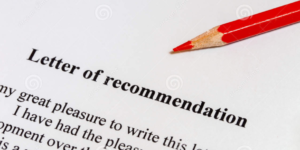 LETTER OF RECOMMENDATION-An overlooked component of the College Applications